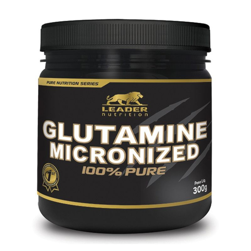 Glutamine Micronized - 300g - Leader Nutrition