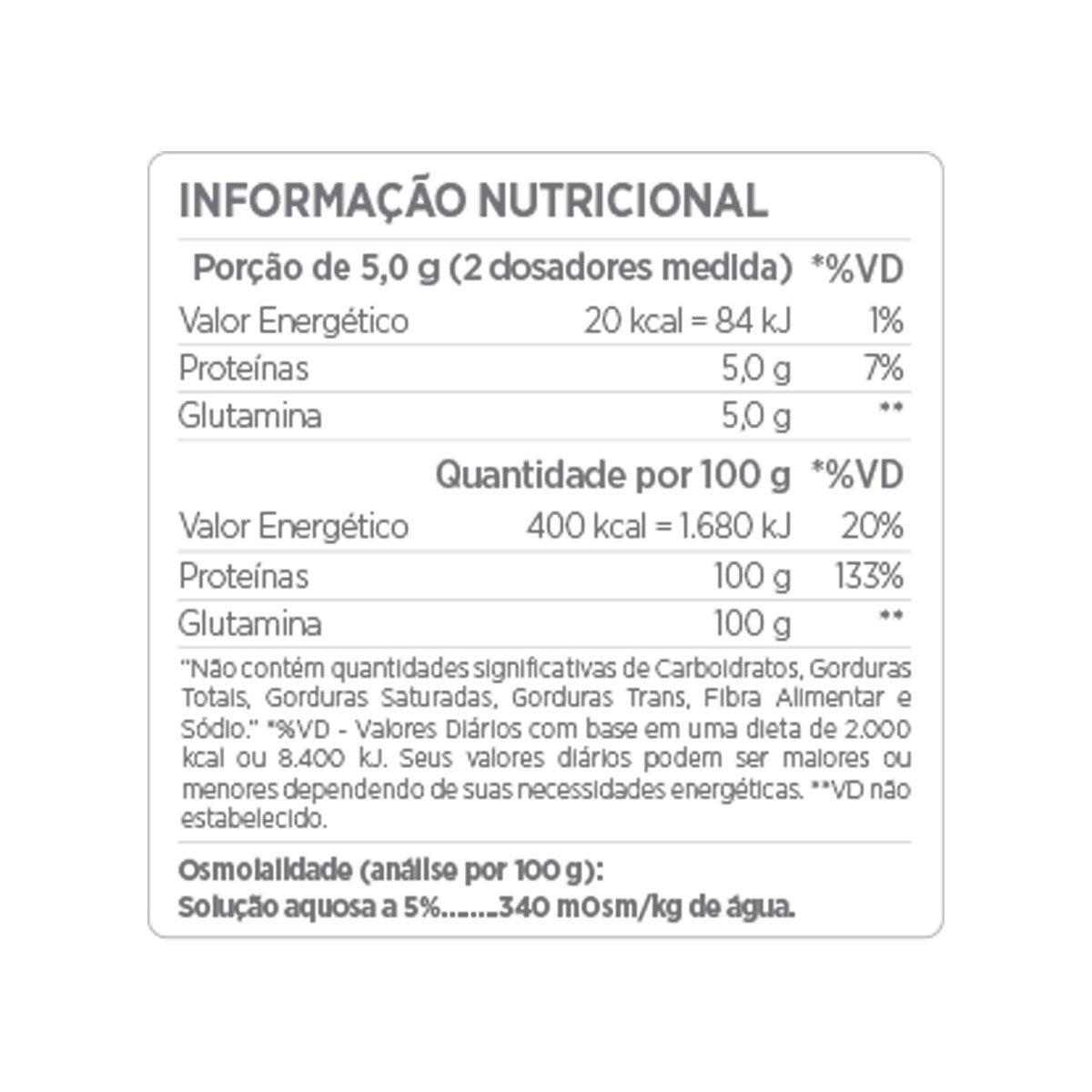 Glutamine Micronized 500g - Atlhetica Nutrition