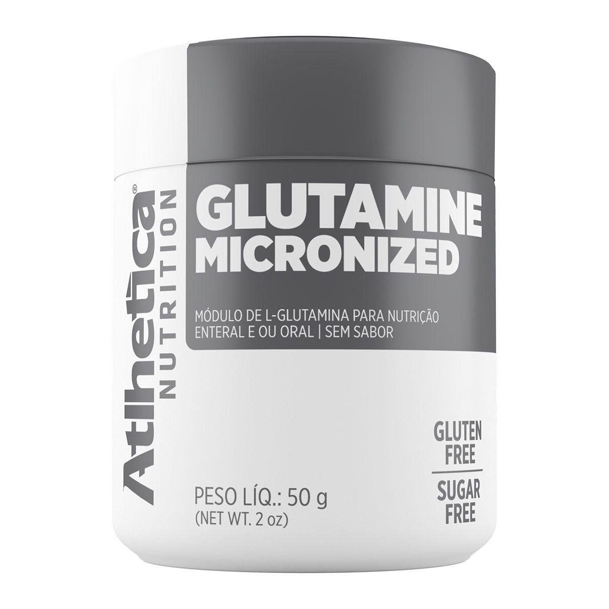 Glutamine Micronized 50g - Atlhetica Nutrition