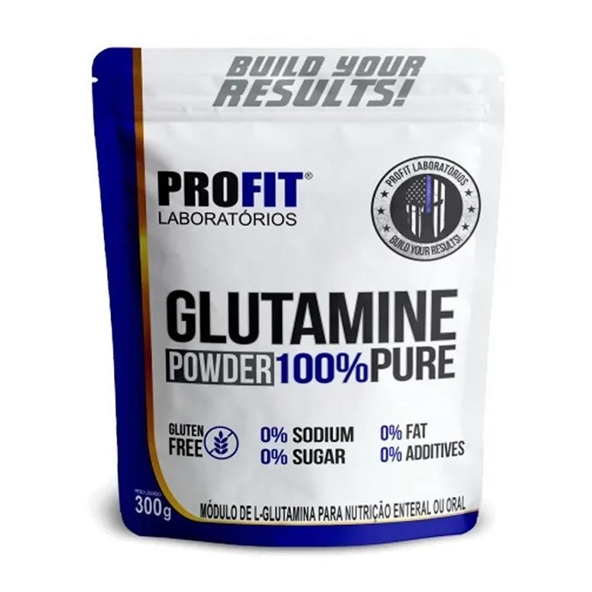 Glutamine Powder 100% Pure 300g - Profit Labs
