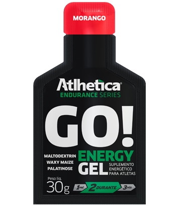 Go - Energy Gel 10 Sachês - Atlhetica