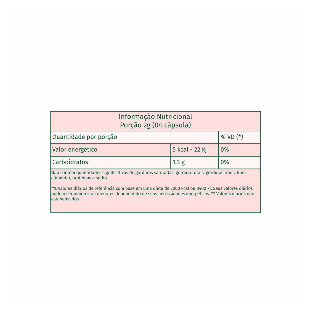 Goji Berry 500mg 60 cápsulas - Nutrends