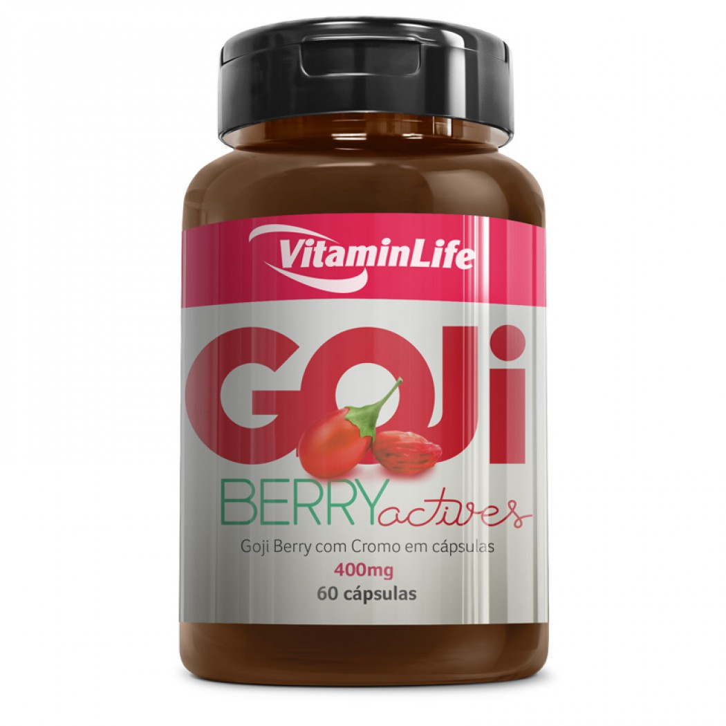 Goji Berry 60 Cápsulas - Vitamin Life