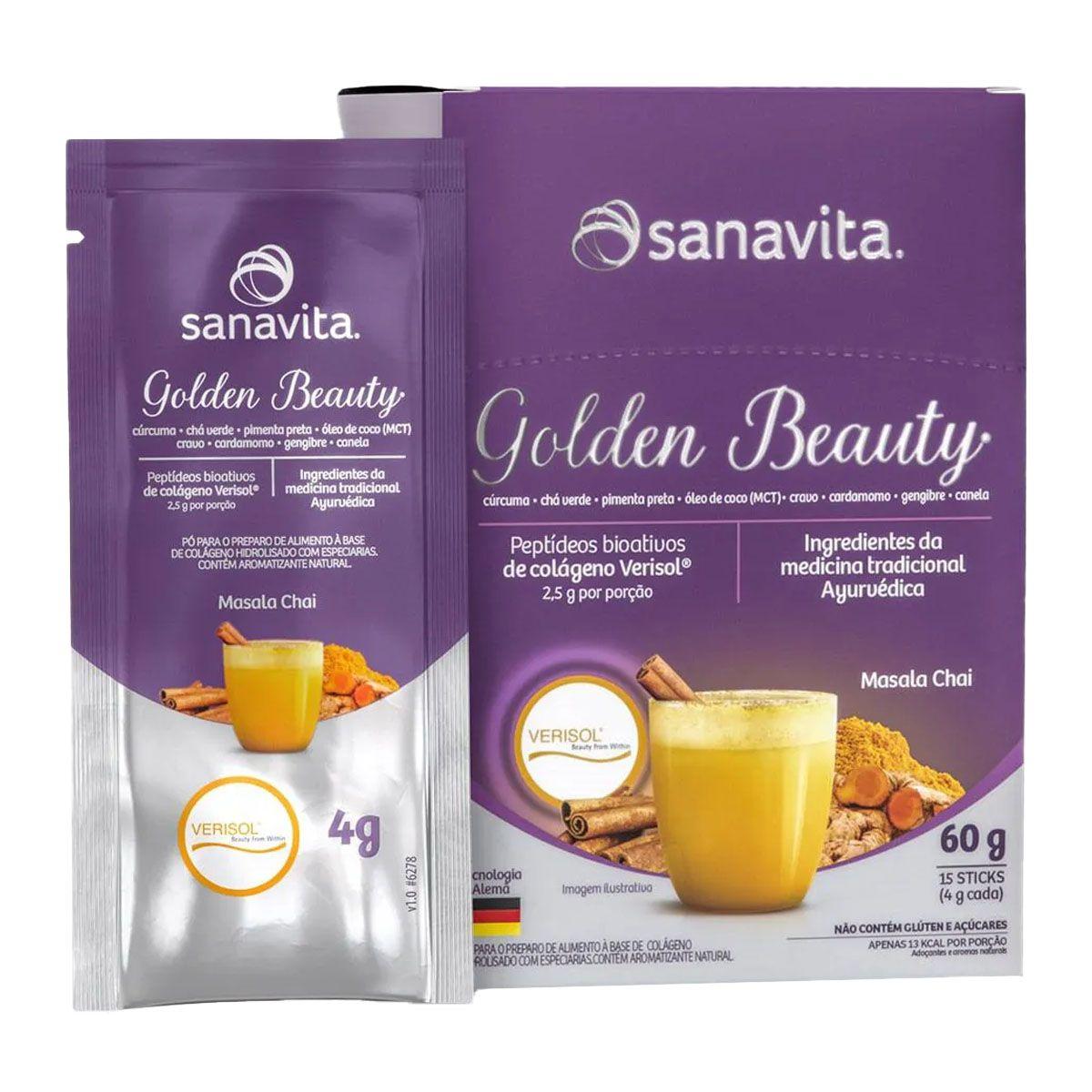 Golden Beauty 15 Sachês - Sanavita