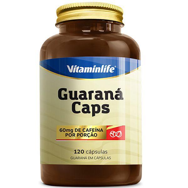 Guaraná Caps 120 Cápsulas - Vitamin Life