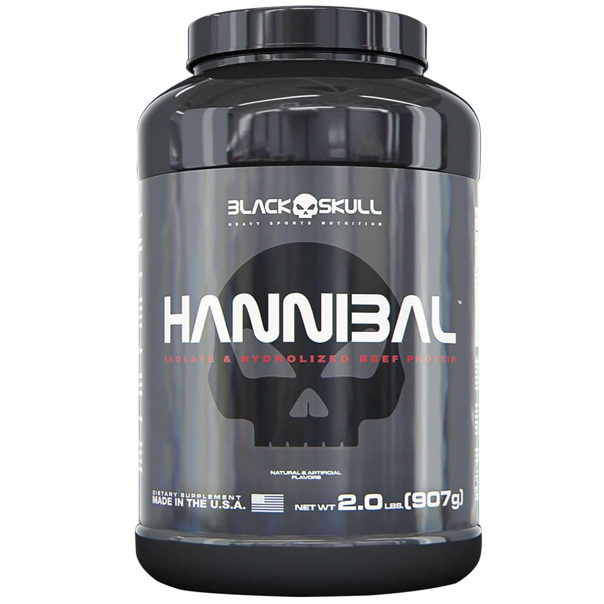 Hannibal 900 g - Black Skull