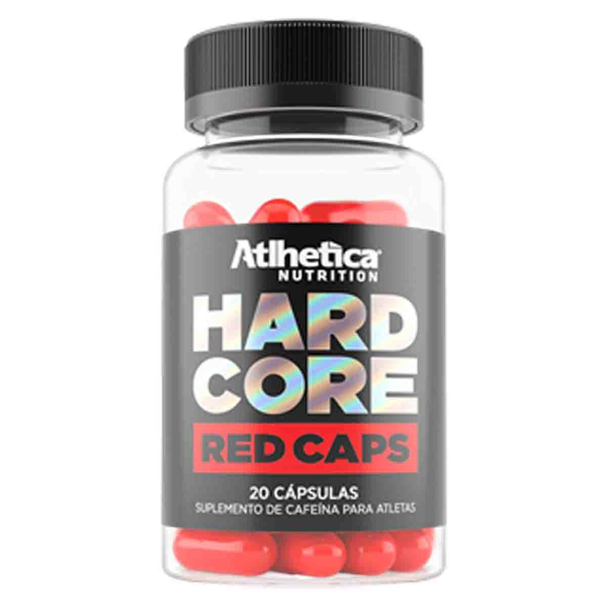 Hardcore Red 20 Cápsulas - Atlhetica Nutrition