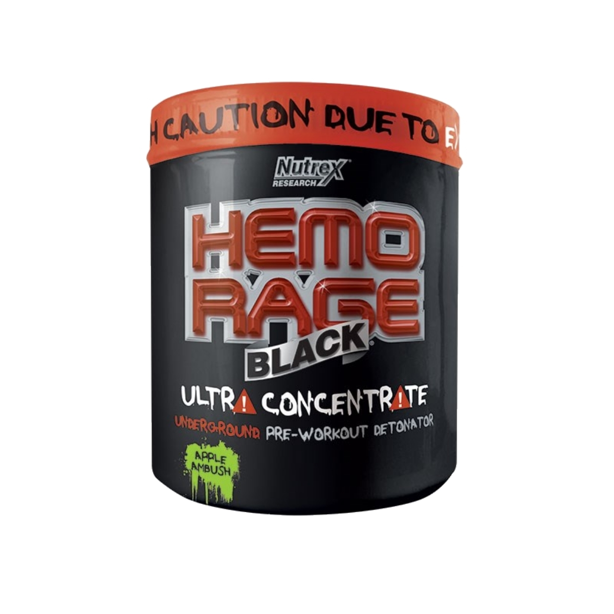 Hemo Rage Black UC 321 g - Nutrex