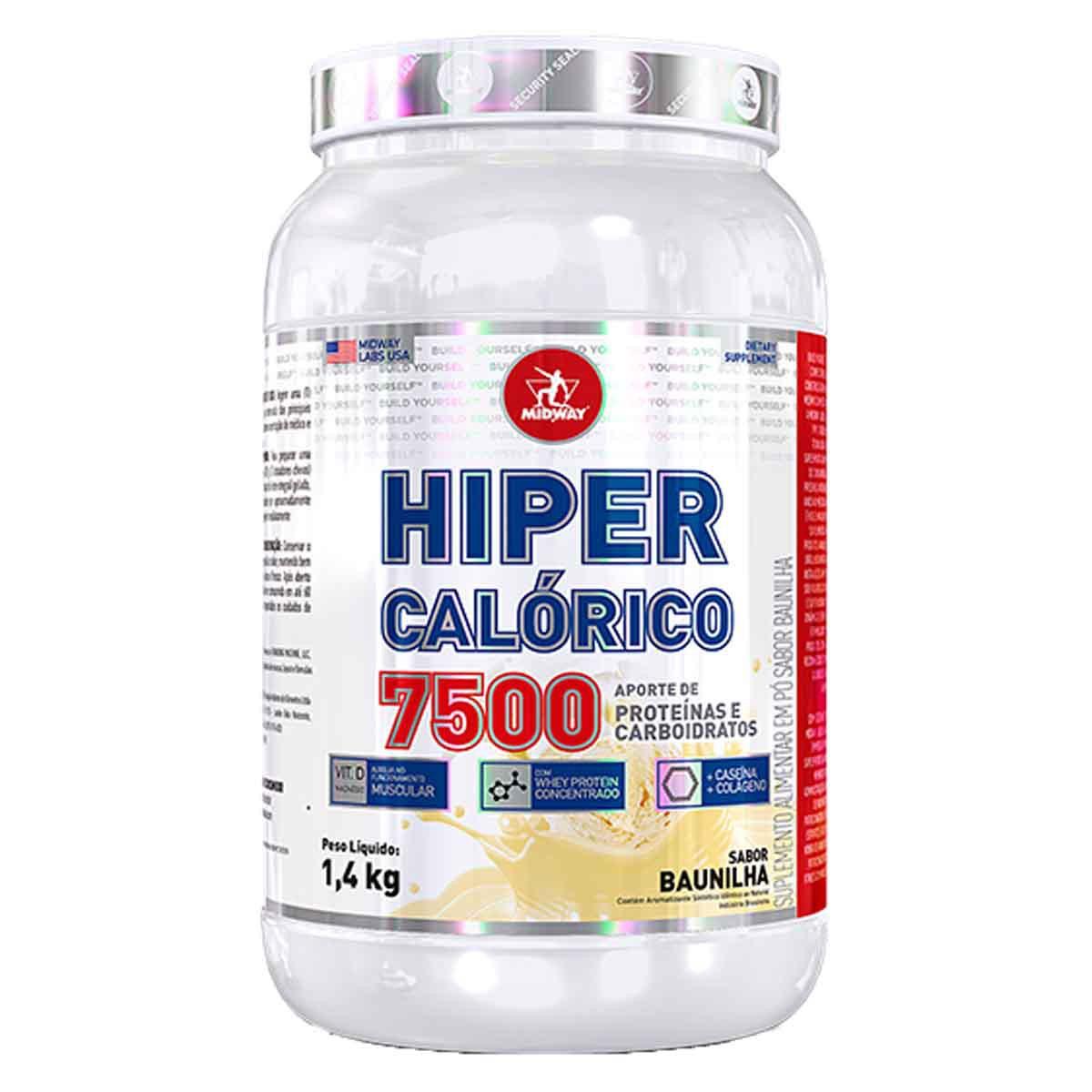 Hipercalorico 7.500 1,5kg - Midway