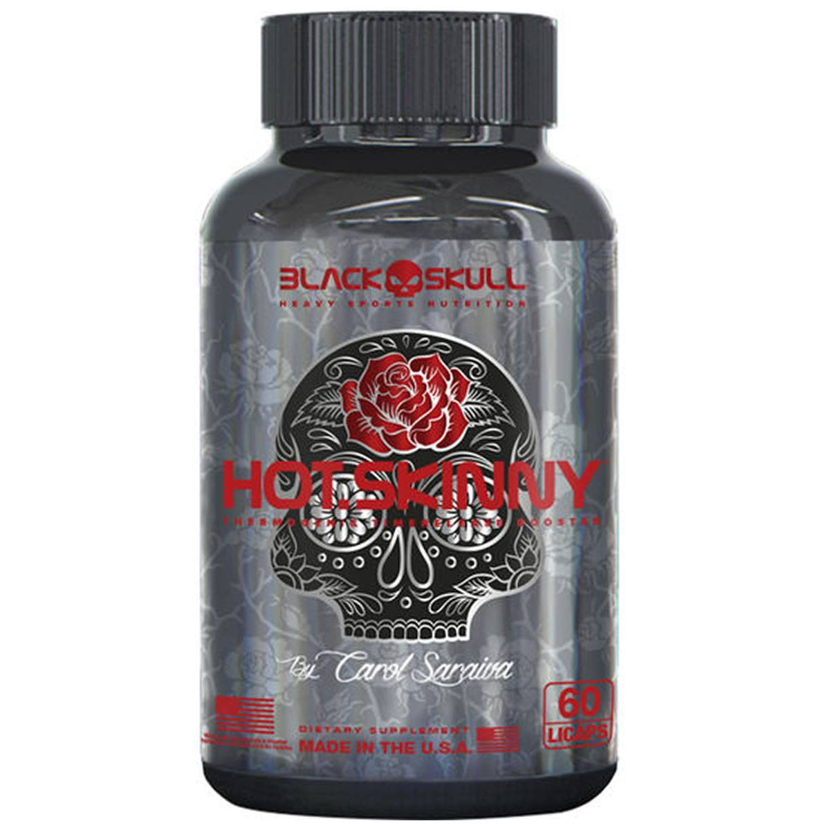 Hot Skinny 60 Cápsulas - Black Skull