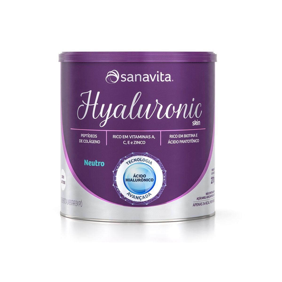 Hyaluronic Skin - 270g - Sanavita