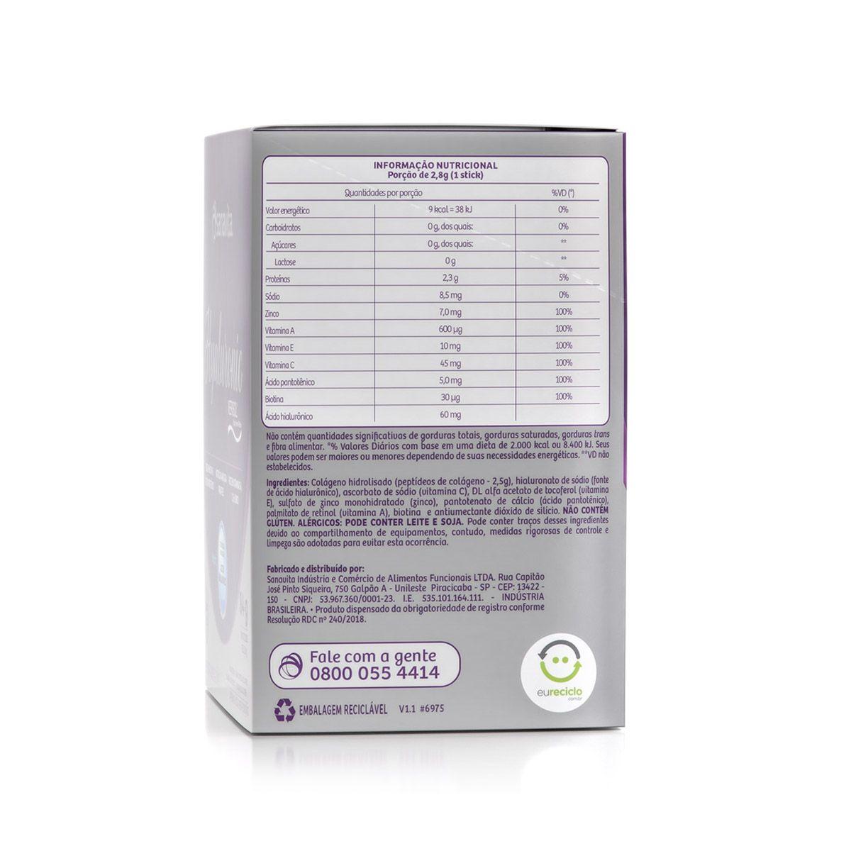 Hyaluronic Verisol - 30 Sachês - Sanavita