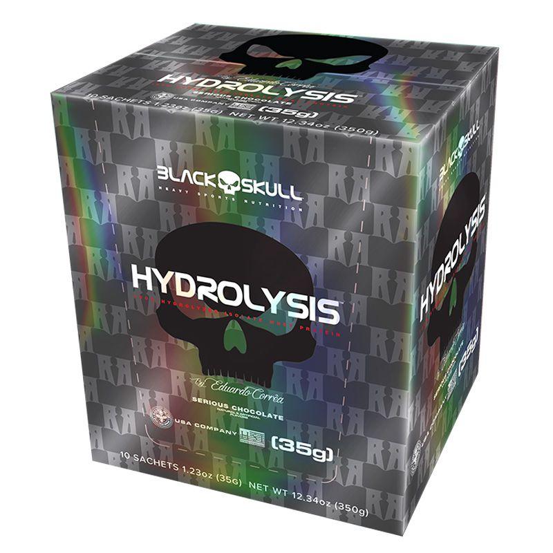 Hydrolysis 35g (10 sachês) - Black Skull