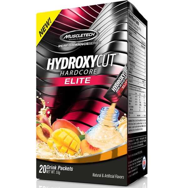 Hydroxycut Hardcore Elite c/ 20 sachês- Muscletech
