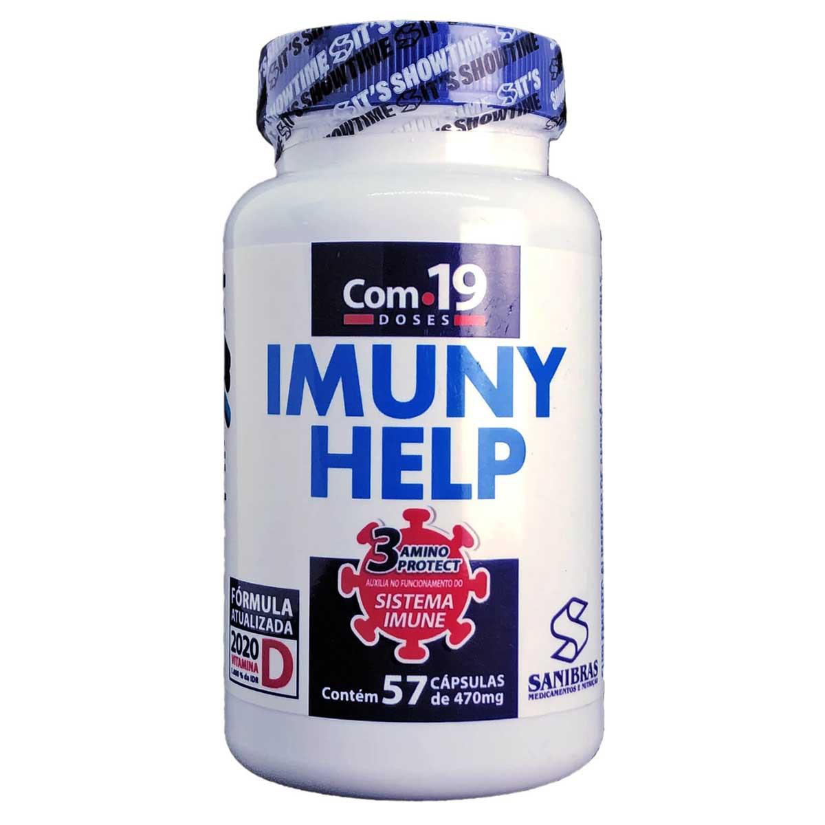 Imuny Help 57 cápsulas - Sanibras