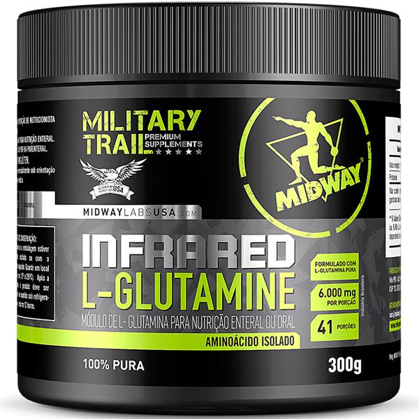 Infrared L-glutamine 300 g - Midway