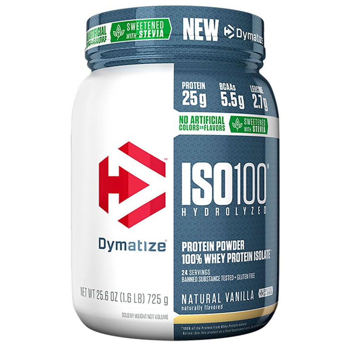Iso 100 Natural 725 g - Dymatize