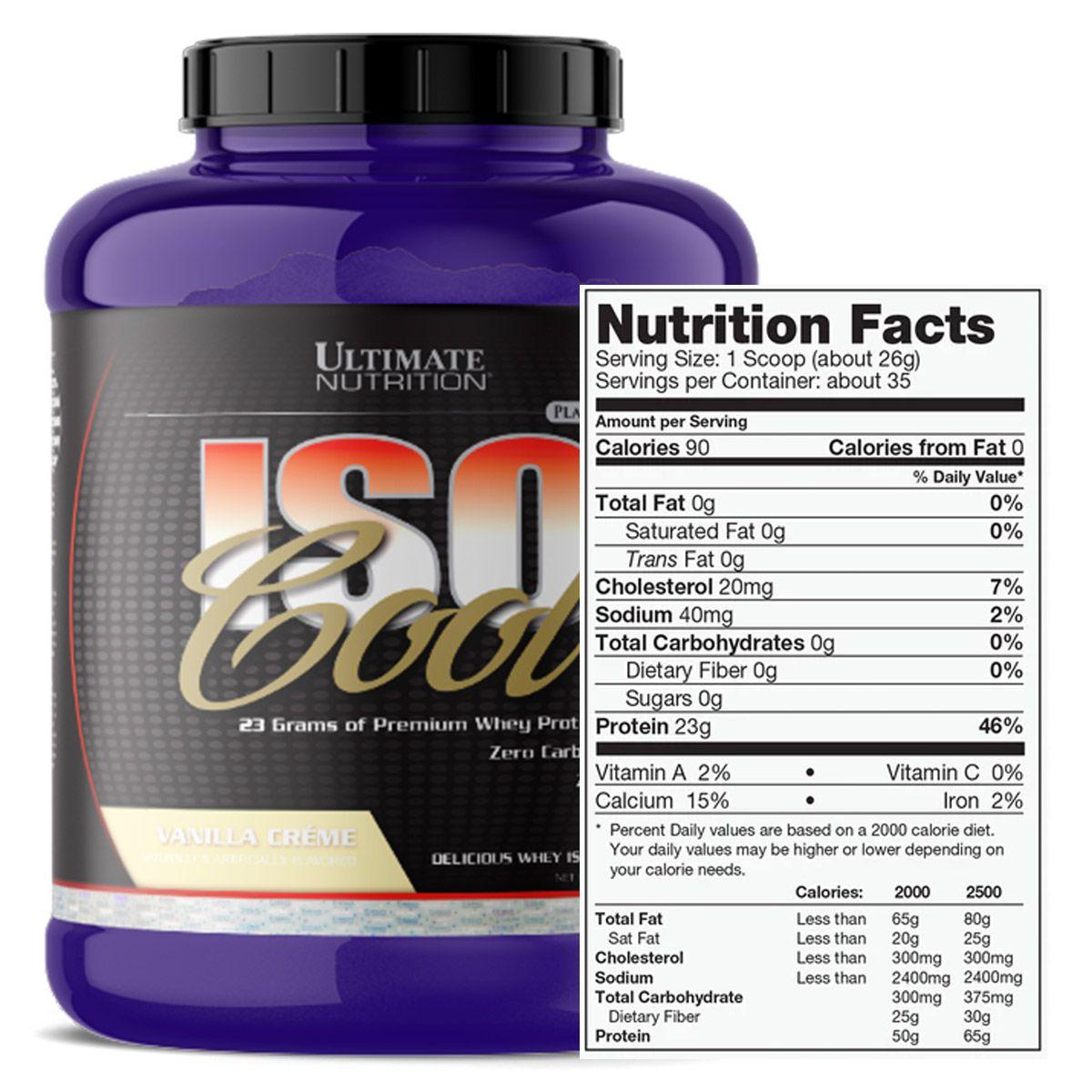 IsoCool 2,2kg - Ultimate Nutrition