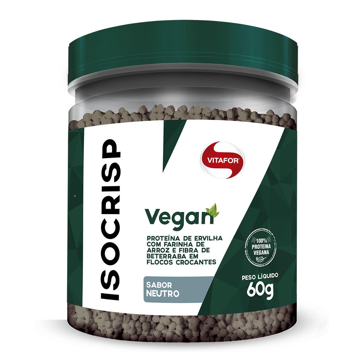 Isocrisp Vegan 60g - Vitafor