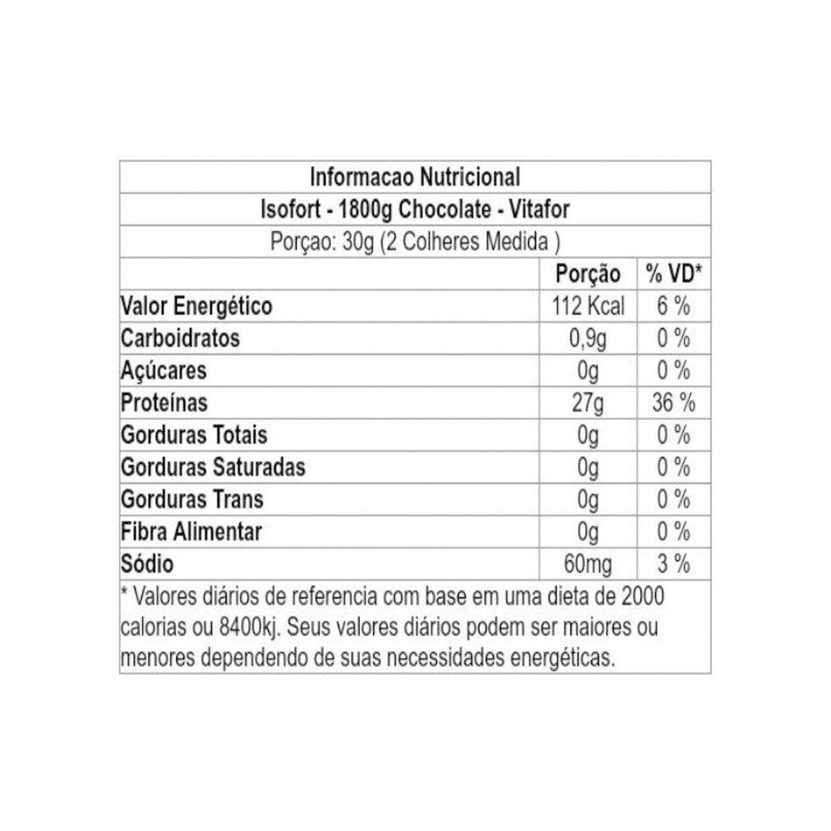 Isofort 1,8kg - Vitafor
