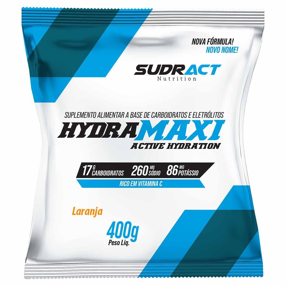 Isotônico Hydramaxi 400g - Sudract