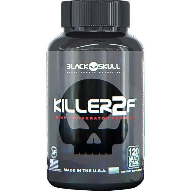 Killer2F 120 Cápsulas - Black Skull