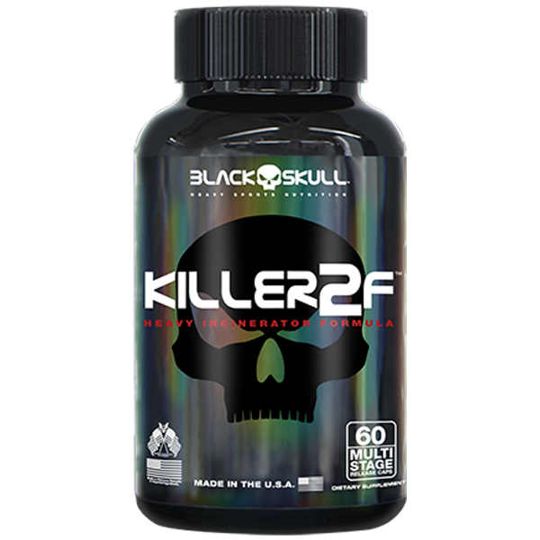 Killer2F 60 Cápsulas - Black Skull