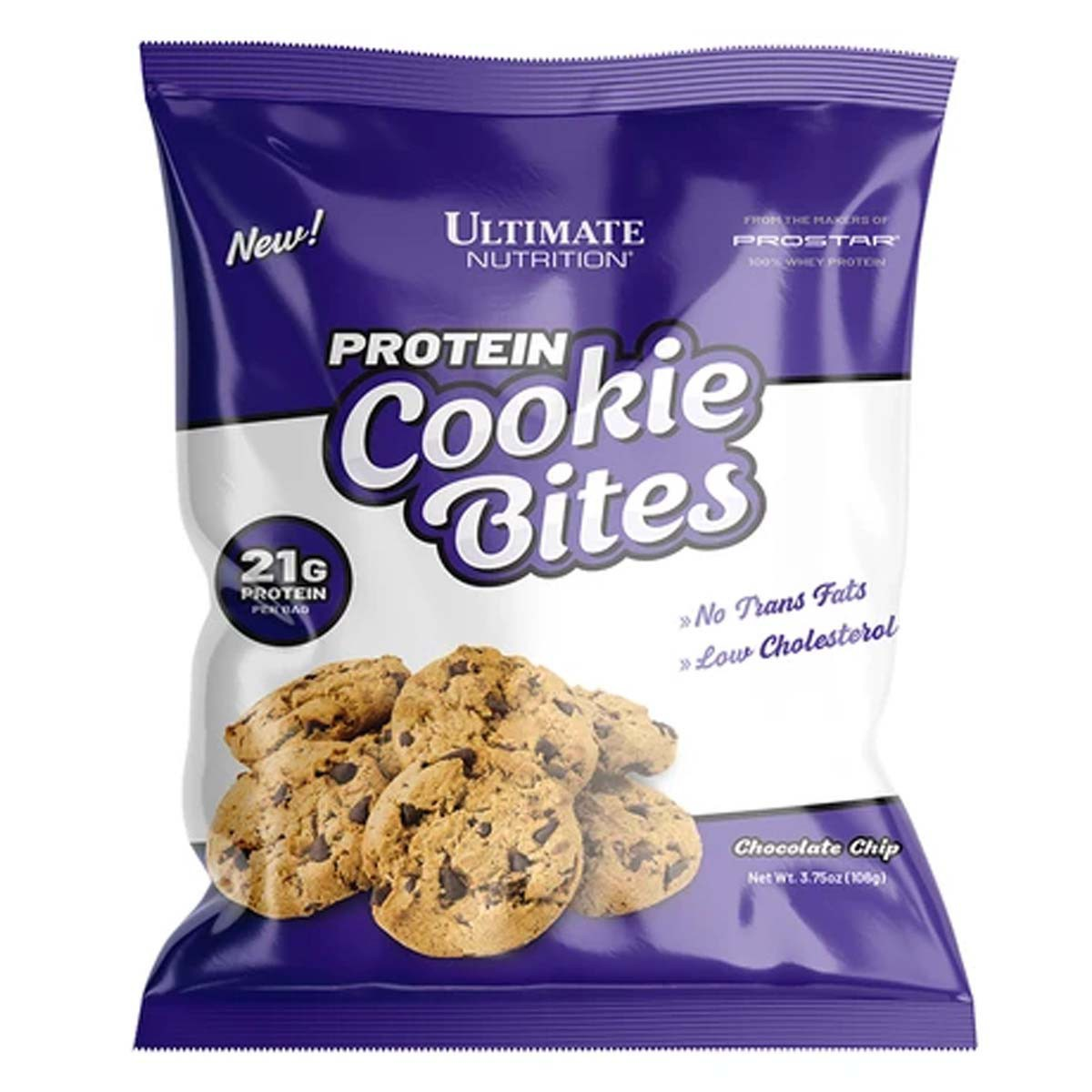 Kit 6 Protein Cookie Bites 100g - Ultimate Nutrition