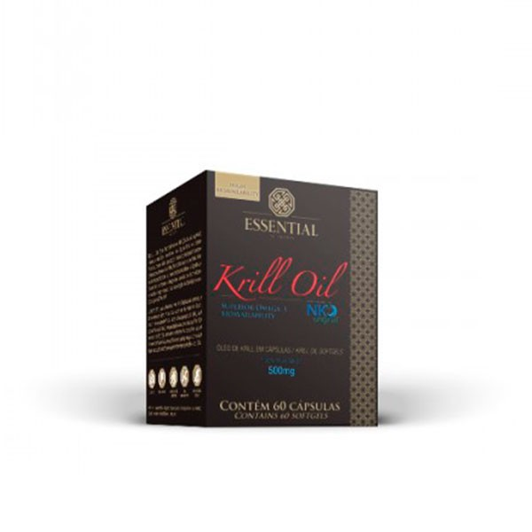 Krill Oil 60 cápsulas - Essential Nutrition
