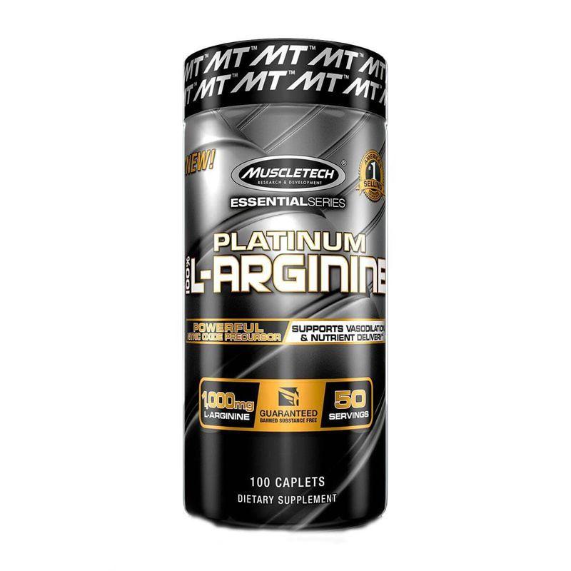 L-Arginina Platinum - 100 Tabletes - Muscletech