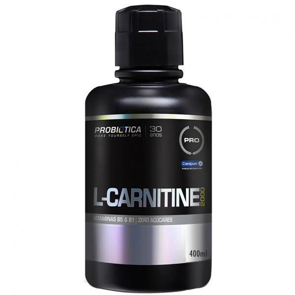 L-Carnitina 2000 400 ml - Probiótica