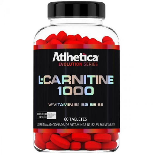 L-Carnitine 1000 60 Cápsulas - Atlhetica