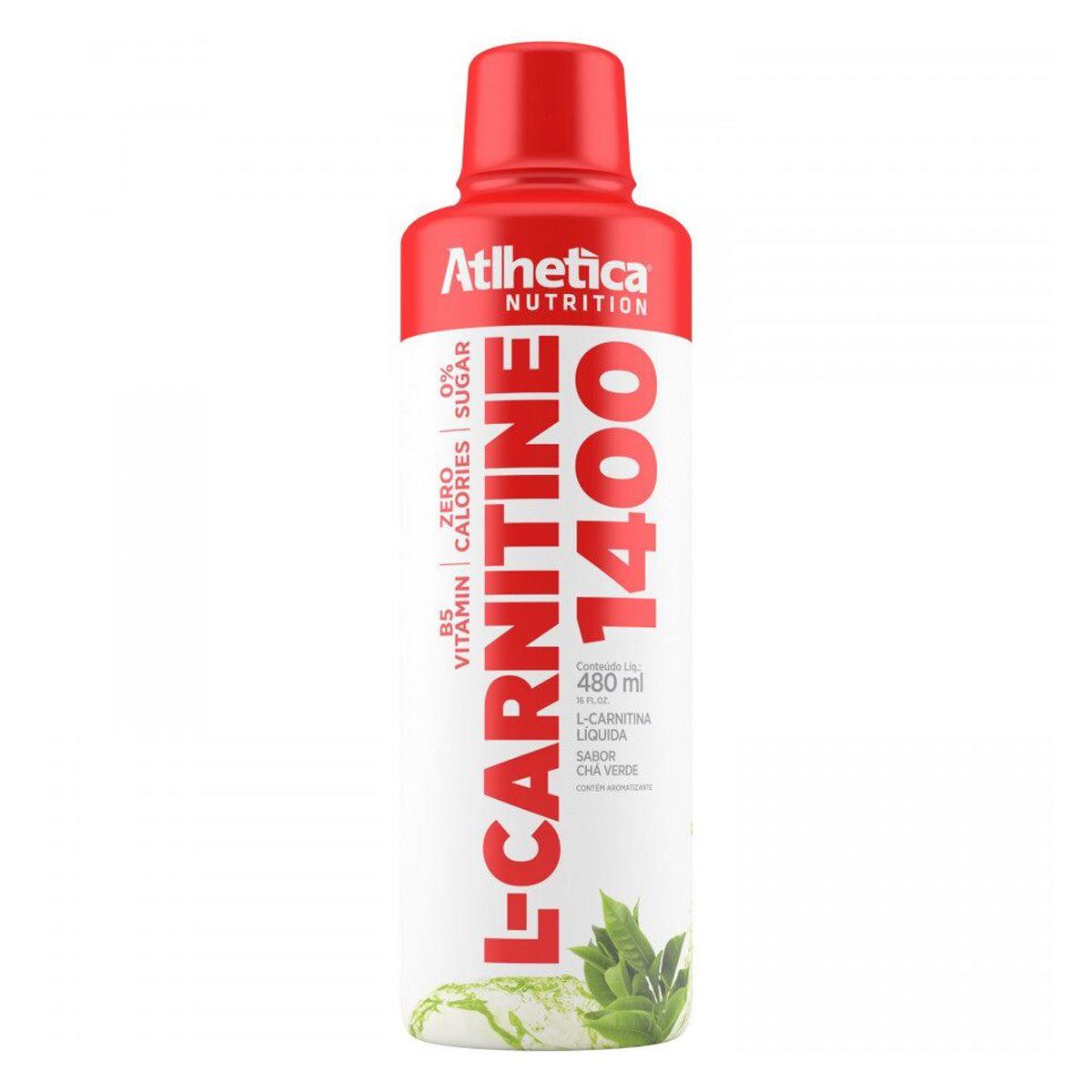 L- Carnitine 1400 - 480 ml - Atlhetica