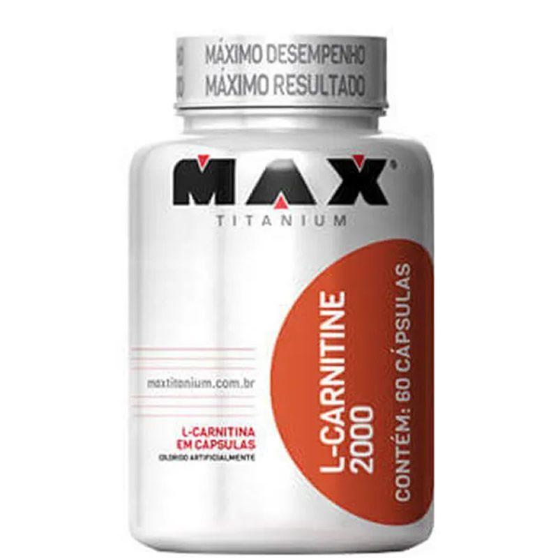 L-Carnitine 2000 60 Cápsulas - Max Titanium