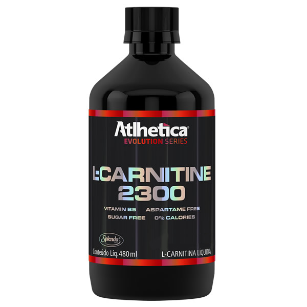 L-Carnitine 2300 480 ml - Atlhetica