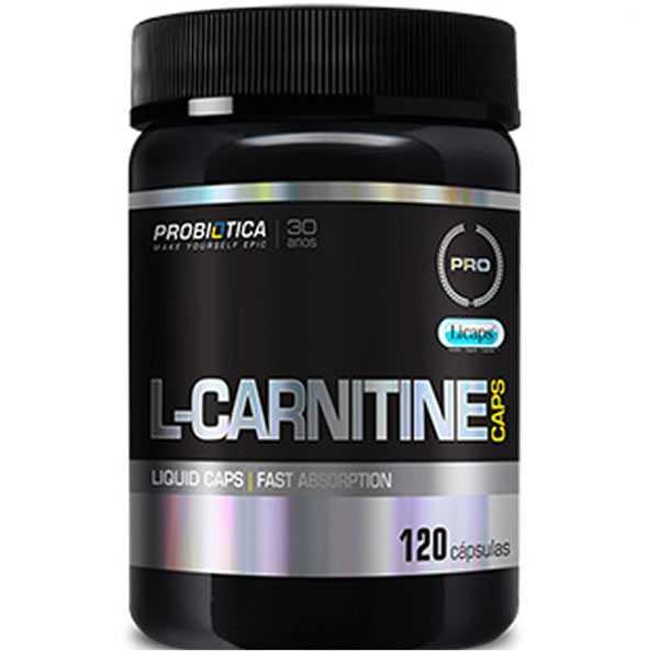 L-Carnitine Caps 120 Cápsulas - Probiótica