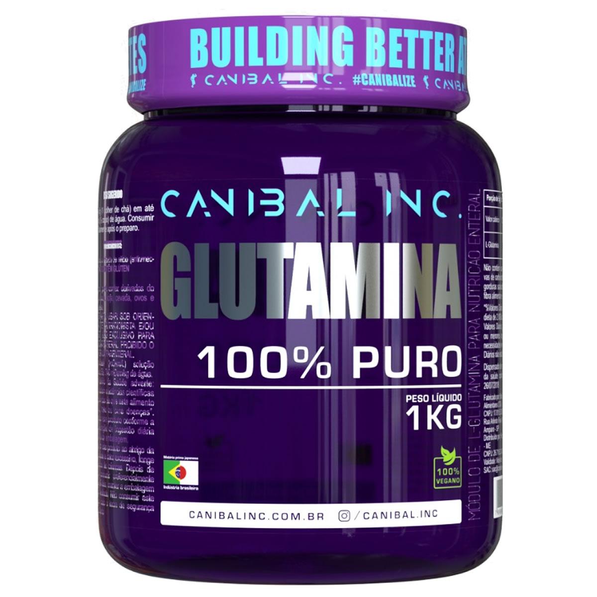 L-Glutamina 1kg - CANIBAL INC