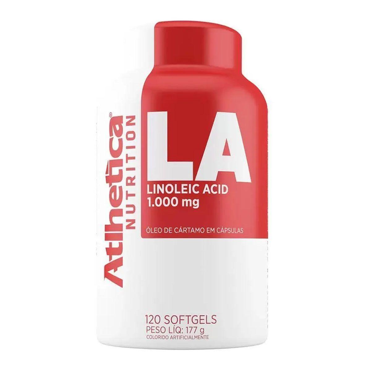 LA Linoleic Acid 120 cáps - Atlhetica Nutrition