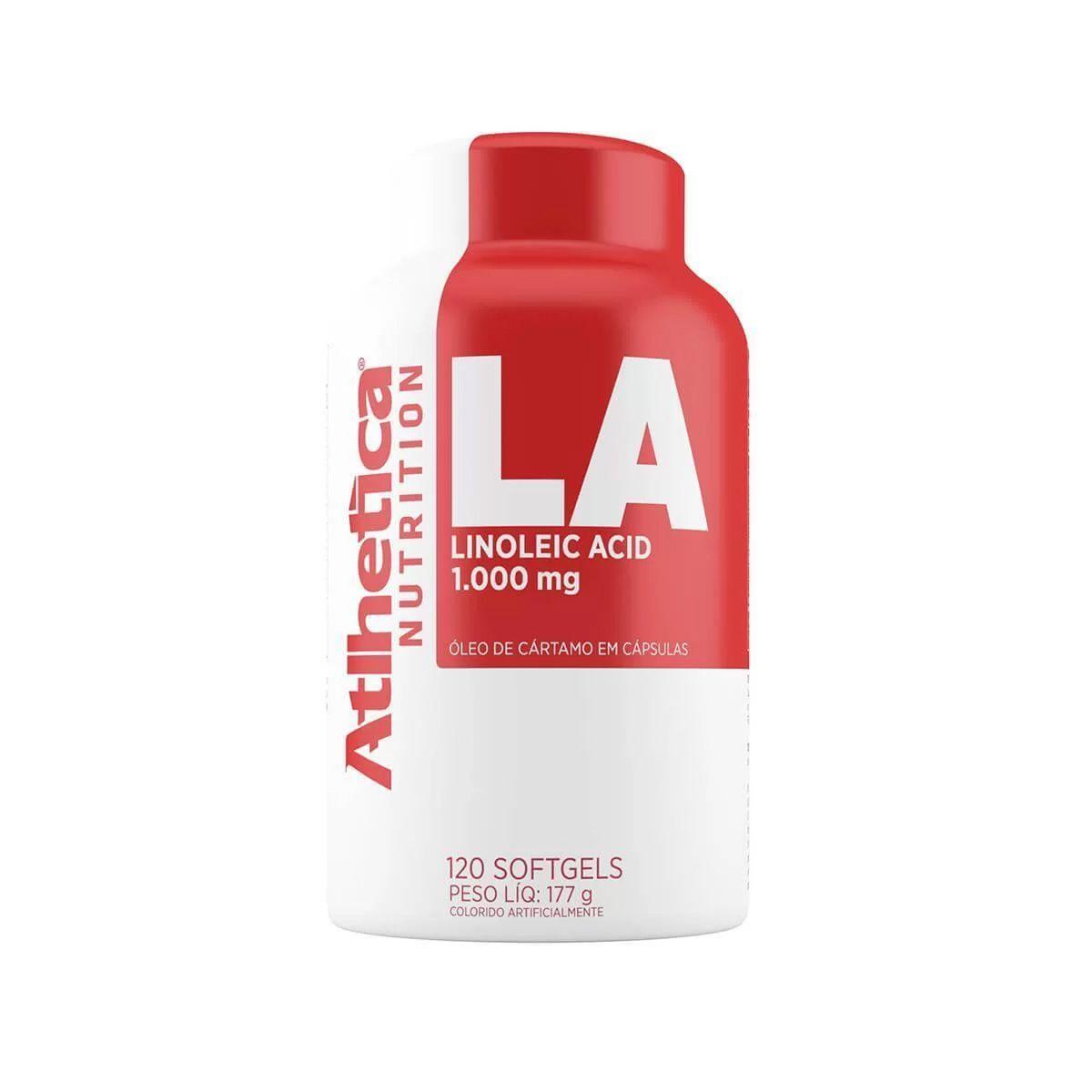 LA Linoleic Acid 120 Cápsulas - Atlhetica
