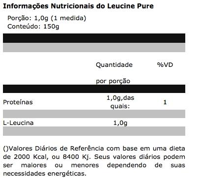 Leucine Pure 150 g - Probiótica