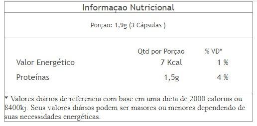 Leucine Secret 90 cápsulas - 3VS