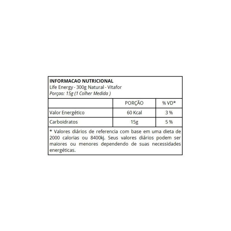 Life Energy Palatinose (300g) - Vitafor