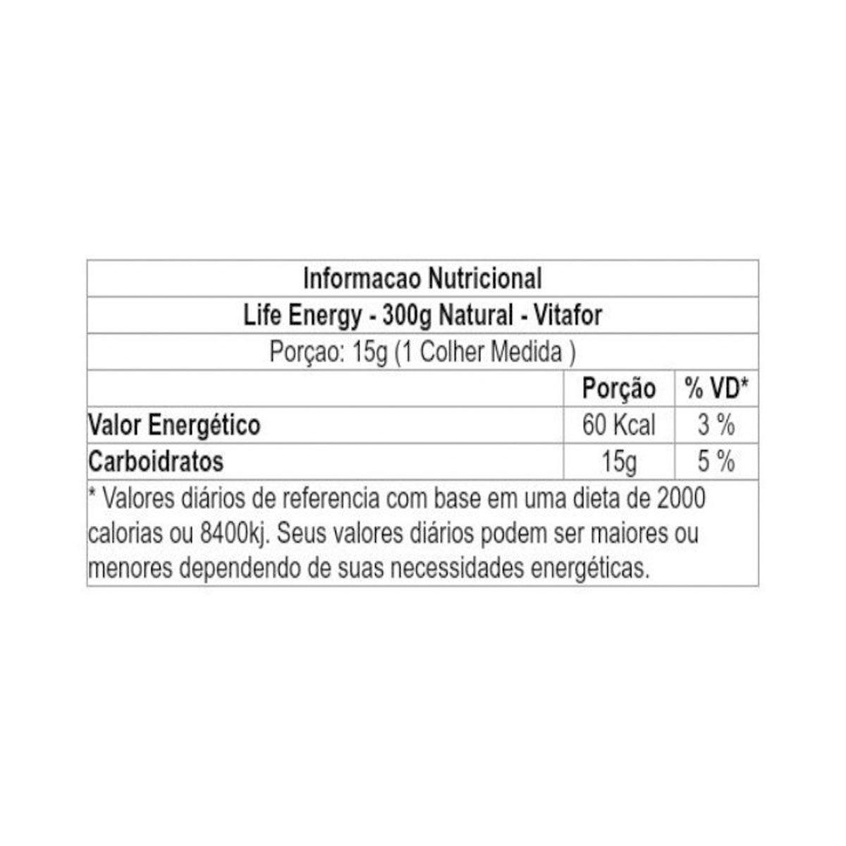 Life Energy Palatinose 300g - Vitafor