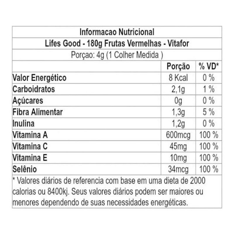 Lifes Good 180g - Vitafor