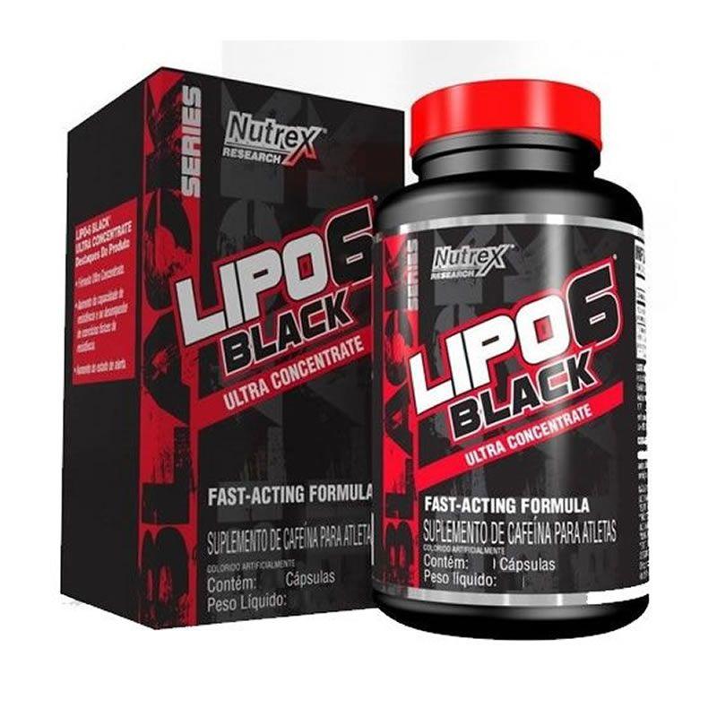 Lipo 6 Black Uc - 120 cápsulas - Nutrex