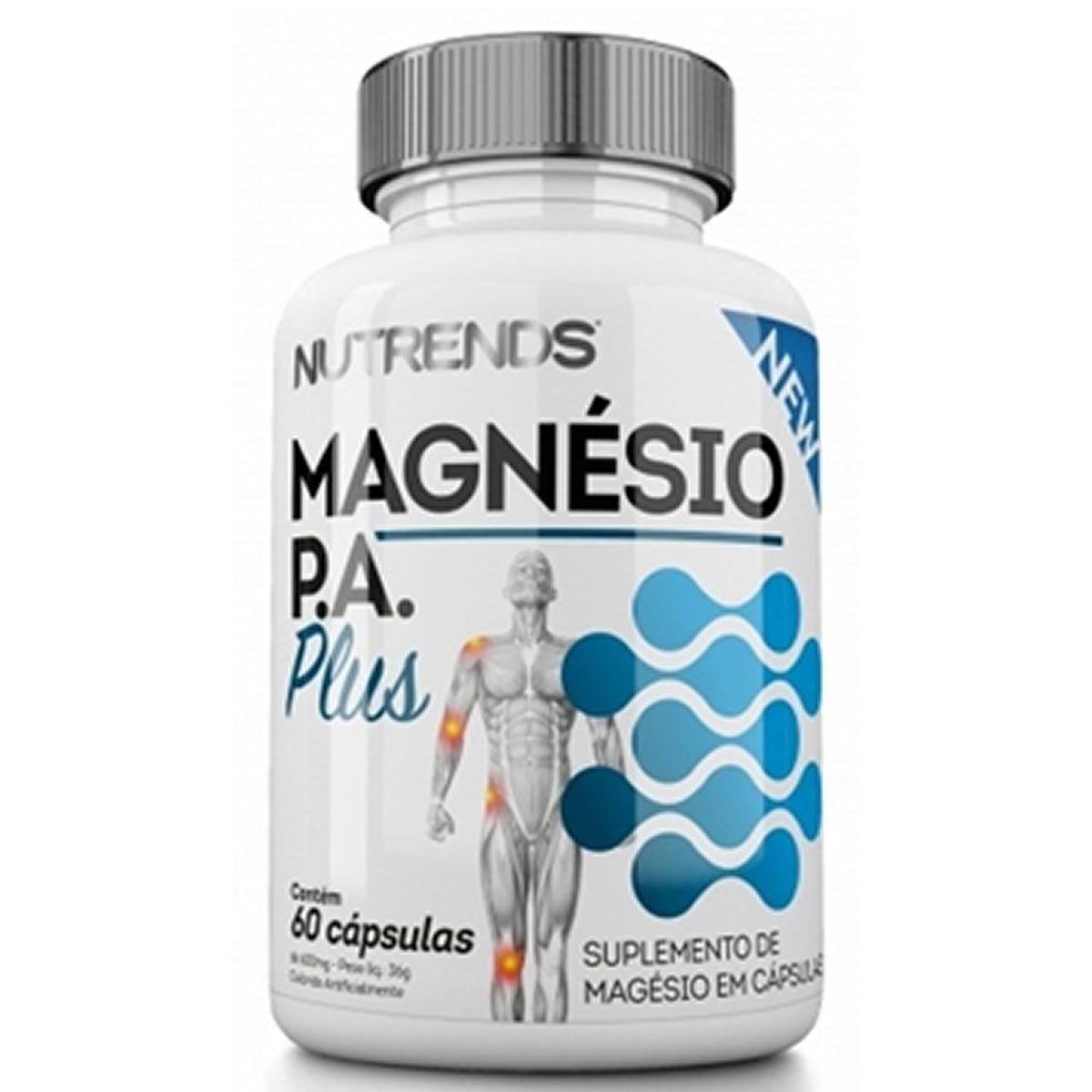 Magnesio P.A Plus 60 Cápsulas - Nutrends