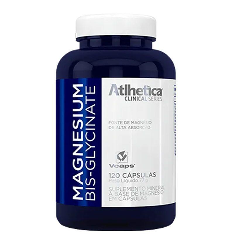Magnesium Bis-Glycinate 120 cáps - Atlhetica Nutrition