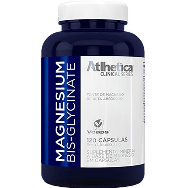 Magnesium Bis-Glycinate 120 Cápsulas - Atlhetica