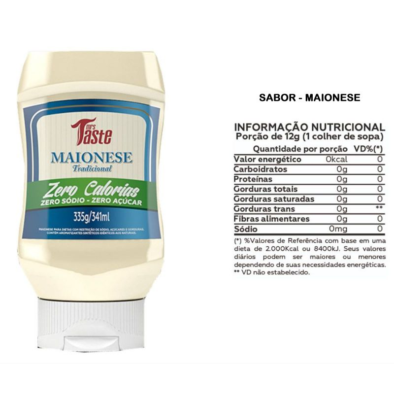 Maionese 335g - Mrs Taste