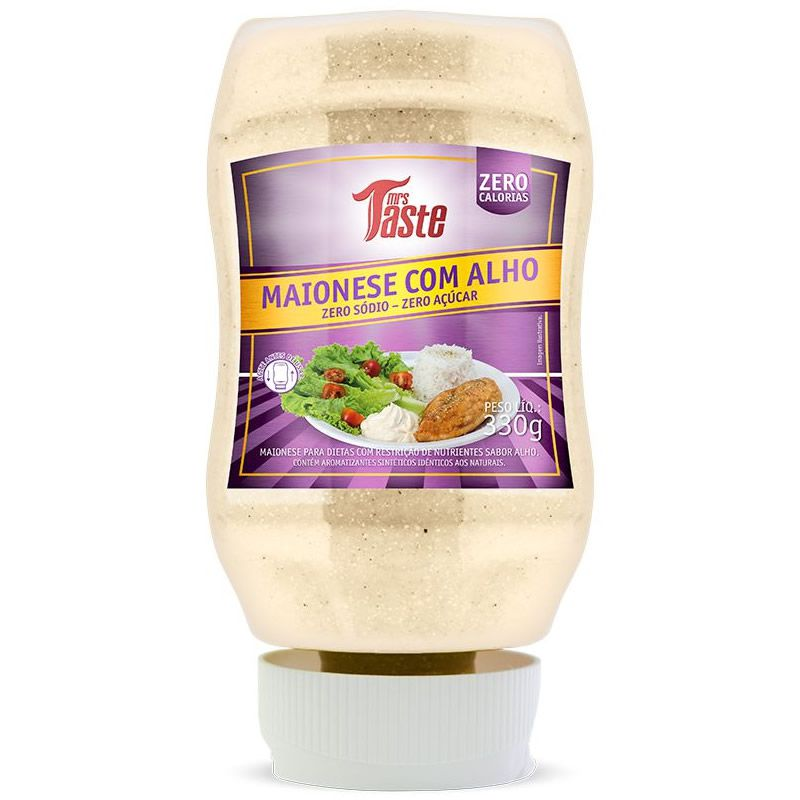Maionese com Alho 335g - Mrs taste